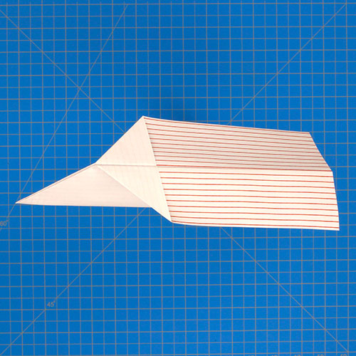 Fold 'N Fly » Paper Airplane Folding Instructions