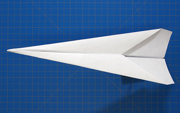 Fold n fly basic dart final paper airplane design malvernweather Choice Image