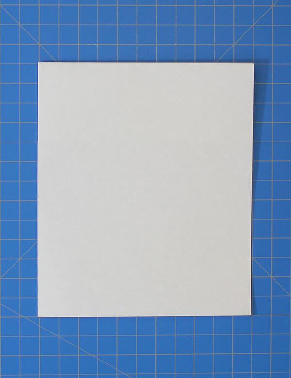 fold n fly ✈ fast hawk 2 fold the sheet in half vertically
