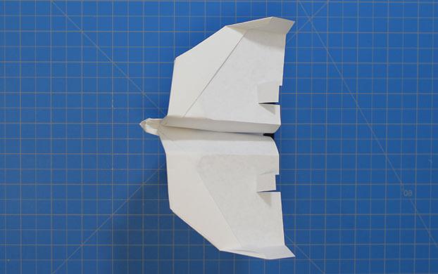 fold n fly acirc fast hawk fast hawk final paper airplane design