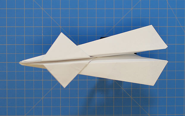 how to make the perfect paper airplane for distance