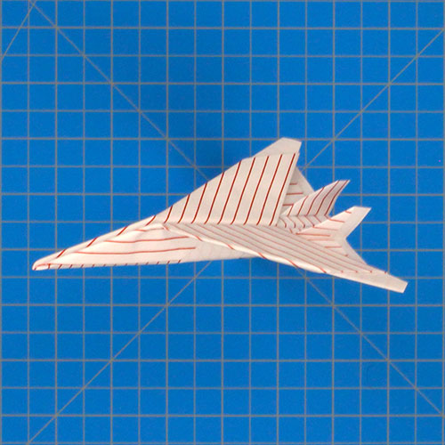 How To Make an F15 Paper Airplane ✈ Origami F15 Jet Fighter Plane ... | 250x250