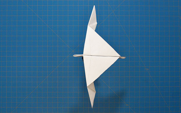 Final paper airplane design
