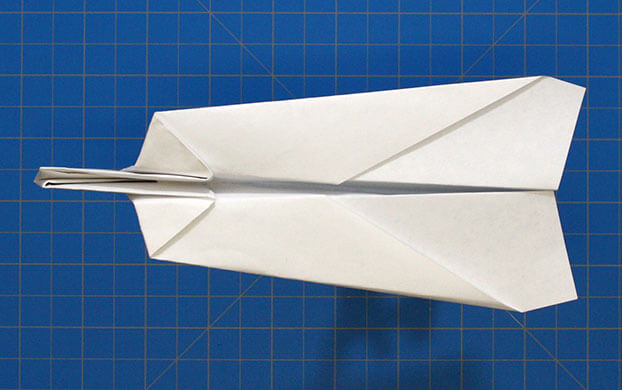 Fold 'N Fly » Heavy-Nosed Plane